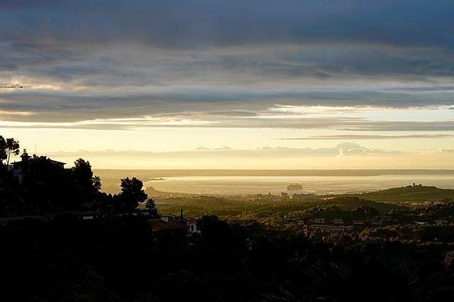 Palma de Mallorca. Room with a view. No filter. Just nature.